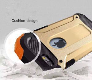 Super Steel Metal Armour Hybrid TPU+PC Cell Phone Case for iPhone 6/6 Plus pictures & photos