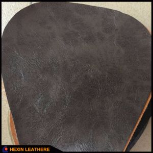 Classic Embossed Synthetic PU Leather for Furniture Sofa Making Hx-F1750 pictures & photos