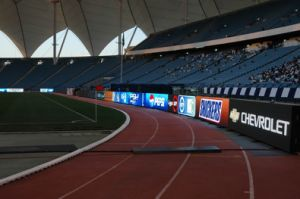 Outdoor Perimeter Full Color LED Display for Sports Stadium pictures & photos