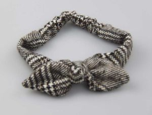 Bow Tie Headband with Checked Pattern Hairband Fashion Accessory pictures & photos