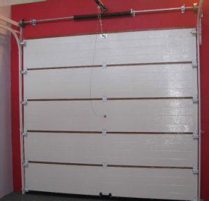 Sectional Garage Door with Polyurethane Foam Aluminium Profile Exterior Door (Hz-FC0271) pictures & photos