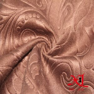 Custom Chenille Fabric Polyester Fabric Flocking Fabric for Sofa Upholstery pictures & photos