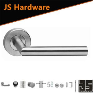 Customized Classical Stainless Steel Door Lever Hollow Handles Door Handles pictures & photos