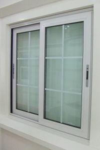 Good Qualitu Vinyl PVC Windows and Doors with Mosquito Net UPVC Sliding Window pictures & photos
