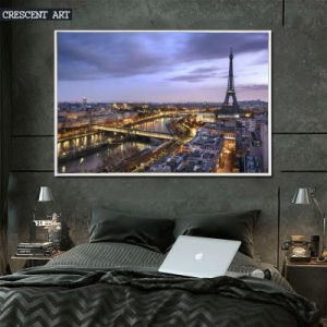 Luxuriant City Vibe Oil Painting Print on Canvas pictures & photos