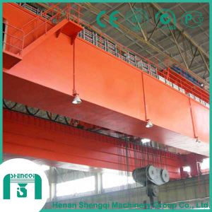 Qd Type 30 Ton Double Girder Overhead Crane for Sale pictures & photos