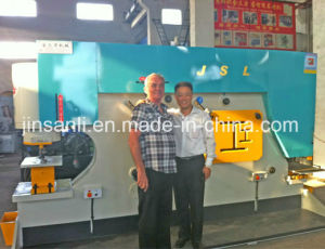 Diw Series Hydraulic Ironworker Plate Metal Processing Plate Shearing pictures & photos