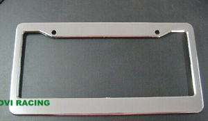 Chromed Car License Plate Frame with ABS Personalized License Palte Holder pictures & photos