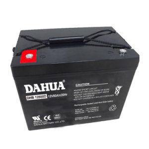 12V 80ah Deep Cycle Solar Battery for Solar Systems pictures & photos