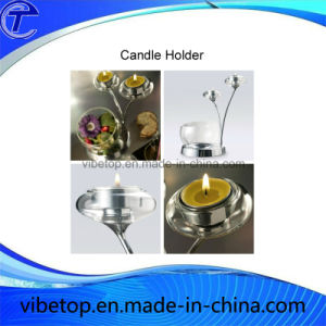 Creative Zinc Alloy Metal Candle Holder pictures & photos