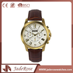 Customized Fashion Leather Sport Wrist Watch pictures & photos