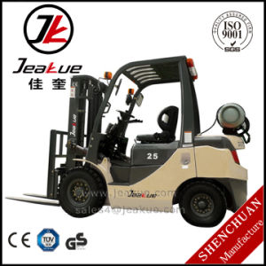 2017 Jeakue Factory Price 2t - 2.5t LPG Forklift pictures & photos