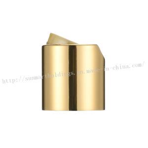 Gold Color Plastic Screw Disc Top Caps pictures & photos