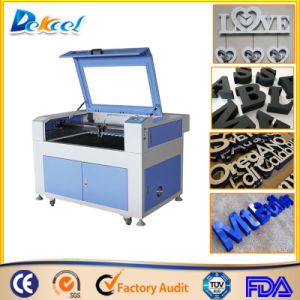 China 9060 CO2 Laser Cutter Cutting Foam/ Ceramic/Advertising Decoration Sale pictures & photos