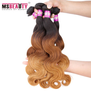 Unprocessed Natural Black Best Brazilian Virgin Hair Extension pictures & photos