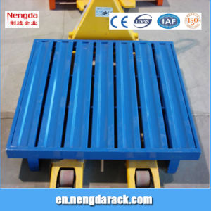 Color Optional Steel Pallet for Warehouse pictures & photos