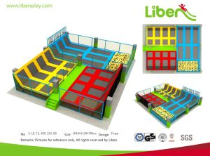 Popular Fitness Indoor High-Quality Commercial Trampoline Park pictures & photos