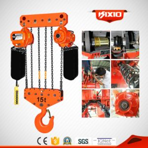 Kixio 15t Heavy Duty Manufacturer of Electric Chain Hoist pictures & photos