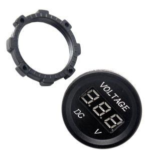 12-24V DC Voltmeter LED Digital Display Waterproof pictures & photos