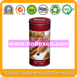 Metal Round Container, Tin Can, Food Tin Box pictures & photos