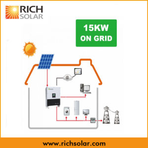 15kw Solar Power Plant System for Home Use