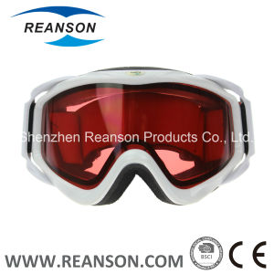 Reanson Anti-Fog UV Cut Double Lenses Snowboard Skiing Goggles pictures & photos