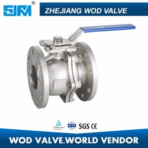 Stainless Steel 304 DIN Flange Ball Valve pictures & photos