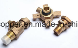 Bronze Ball Valve for Water Meter pictures & photos