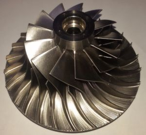 Custom Made 5 Axle CNC Milling Titanium Turbine Impeller pictures & photos
