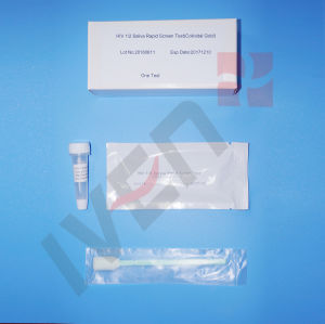 HIV Saliva One Step Test Kit pictures & photos