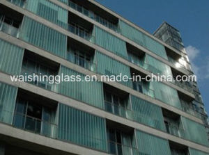 6mm U Glass Curtain Wall -Channel Glass pictures & photos