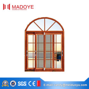 Aluminum Sliding Window with Decorative Grill for Residential pictures & photos