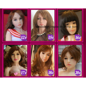 Lovely Face Sex Doll Head for Sex Doll Full Body pictures & photos