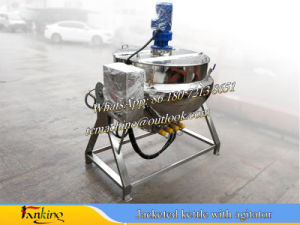 Jacketed Cooker for Syrup Cooking pictures & photos