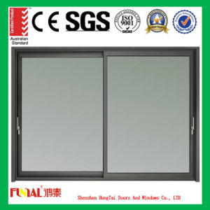 Energy Savings Aluminum Sliding Window with Low-E Glass