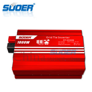 Suoer 1000W 1500W 24V Grid Tie Solar Power Inverter (GTI-D1000B) pictures & photos