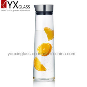 Hot Selling New Products Promotional Christmas Gift Borosilicate Glass Hot and Cold Water Jug/Cold Brew Glass Water Pitcher Pot/Glass Kettle pictures & photos