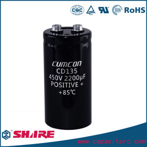 Cable Aluminum Electrolytic Capacitor pictures & photos