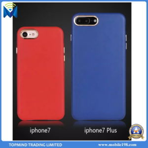 2017 Hot Selling Hard PC&PU Leather Case Back Cover for iPhone6 iPhone 7 7plus pictures & photos