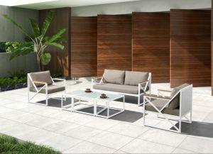 Hot Sell Alum Wicker Garden Outdoor Sofa Set pictures & photos