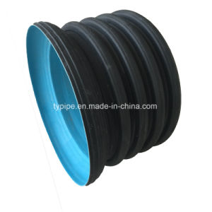 Plastic Pipes Spirally Double-Wall Corrugated Drainage Pipe pictures & photos
