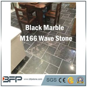 China Wave Stone - Black Marble Tile, Stair, Wall, Construction Material pictures & photos