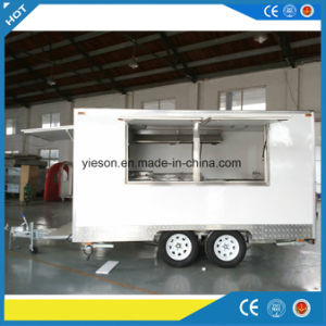 Yieson High Quality Mobile Kitchen Food Truck pictures & photos