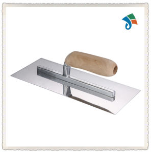 Wood Handle Carbon Steel Trowel pictures & photos