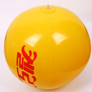 N6p PVC or TPU Deflated 40cm Inflatable Beach Ball Toy pictures & photos
