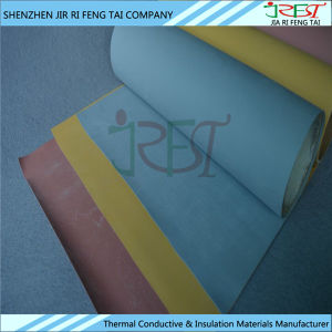 High Voltage Insulation Colored Silicone Rubber Coated Fiberglass Cloth pictures & photos
