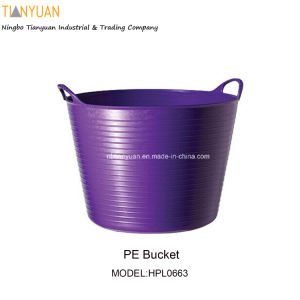 PE Bucket, PE Flexible Bucket, Garden Bucket