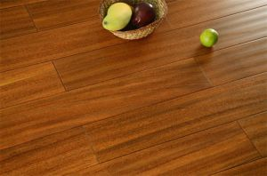 Factory Price Hand Scraped Solid Wood Flooring pictures & photos