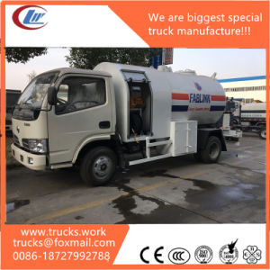 2.5mt Surface Tank Gas Truck LPG Refilling Truck 6000L pictures & photos