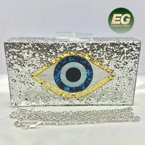 Popular Deisgn Acrylic Clutch Handbag Shining Evening Bags Women Party Purse Eb864 pictures & photos